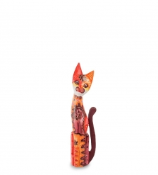 99-278 Статуэтка  Кошка  60 см  албезия, о.Бали