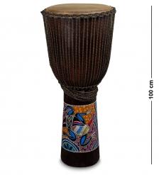 55-007-01 Барабан Джембе роспись 100 см