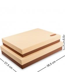 WF-04 Набор коробок из 2шт «Прямоугольник» - Вариант A