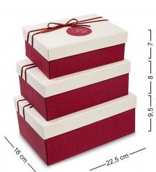 WF-09 Набор коробок из 3шт  Прямоугольник  - Вариант A