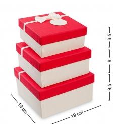 WF-32 Набор коробок из 3шт  Прямоугольник  - Вариант A