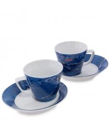 TC-05 Чайный набор на две персоны  Джинсовая симфония   Cafe denim/TOPCHOICE