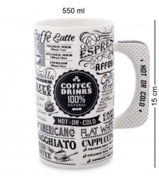 TC-27 Кружка «Кофе для гурмана»  Coffee Drinks/TOPCHOICE