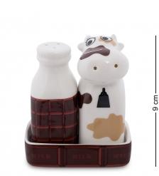 TC-54 Набор соль-перец  Корова с молоком   TOPCHOICE