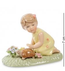 CMS-12/28 Статуэтка  Девочка с черепашкой   Pavone
