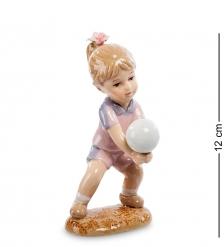CMS-12/31 Статуэтка Девочка  Игра в волейбол   Pavone