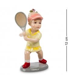 CMS-12/32 Статуэтка Девочка  Игра в теннис   Pavone