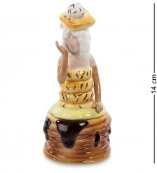 CMS-57/ 4 Подставка для яйца с солонкой  Леди   Pavone