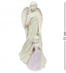 VS- 28 Статуэтка  Ангел и девочка   Pavone