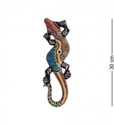 20-007 Панно настенное «Геккон»  албезия, о.Бали  30 см