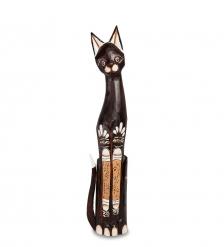 35-059 Статуэтка Кошка 80 см  албезия, о.Бали