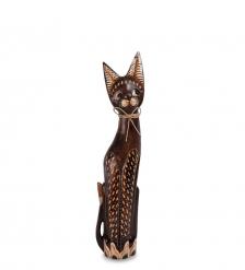 99-090 Статуэтка Кошка 60 см  албезия, о.Бали