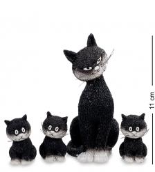 DUB 22 Статуэтка «Дружный ряд»  Cats in a row.Parastone