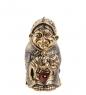 Фотография AM-1001 Фигурка  Колокольчик-Бабуля   латунь, янтарь №1