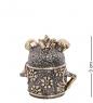 Фотография AM-1002 Фигурка  Колокольчик-Барбоскин   латунь, янтарь №2