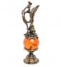 AM-1079 Фигурка  Кувшин   латунь, янтарь