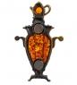 Фотография AM-1103 Магнит  Самовар Суздальский   латунь, янтарь №2