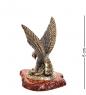 AM-1241 Фигурка  Орел со змеёй   латунь, янтарь
