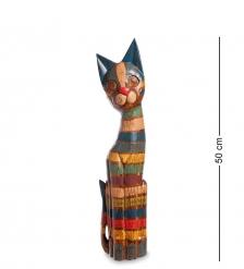 99-035 Статуэтка Кошка 50 см  албезия, о.Бали