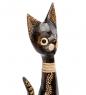 99-069 Статуэтка Кошка 60 см  албезия, о.Бали
