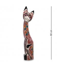 99-104 Статуэтка Кошка 60 см  албезия, о.Бали