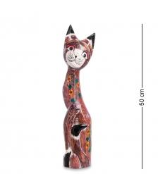 99-105 Статуэтка Кошка 50 см  албезия, о.Бали
