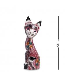 99-107 Статуэтка Кошка 30 см  албезия, о.Бали