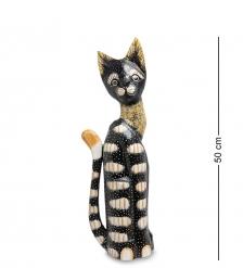 99-119 Статуэтка «Кошка» 50 см  албезия, о.Бали