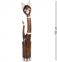 99-144 Статуэтка  Кошка  100 см  албезия, о.Бали