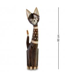 99-146 Статуэтка  Кошка  60 см  албезия, о.Бали