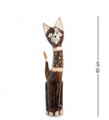 99-147 Статуэтка Кошка 50 см  албезия, о.Бали