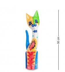 99-272 Статуэтка «Кошка» 50 см  албезия, о.Бали