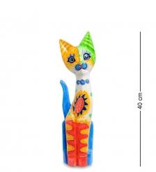 99-273 Статуэтка «Кошка» 40 см  албезия, о.Бали