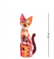 99-281 Статуэтка «Кошка» 30 см  албезия, о.Бали