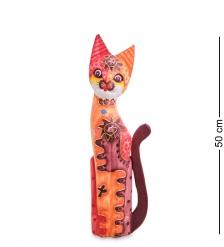 99-286 Статуэтка «Кошка» 50 см  албезия, о.Бали