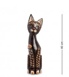 99-294 Статуэтка Кошка 40 см  албезия, о.Бали