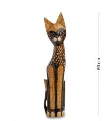 99-346 Статуэтка  Кошка  60 см  албезия, о.Бали