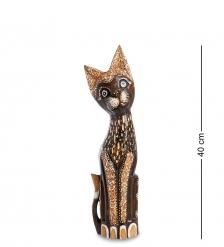 99-348 Статуэтка  Кошка  40 см  албезия, о.Бали