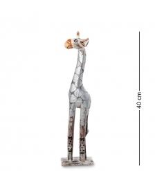 99-401 Статуэтка  Жираф  40 см  албезия, о.Бали