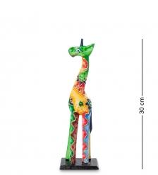 99-417 Статуэтка  Жираф  30 см  албезия, о.Бали