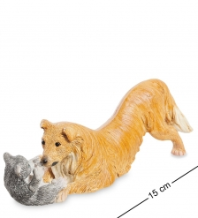ED-322 Фигурка  Кошка с собакой