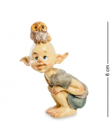 ED-330 Фигурка  Гном с совенком