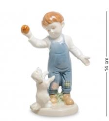 VS-312 Статуэтка  Мальчик с щенком