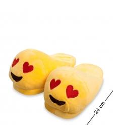 EK-12 Тапочки  Смайлик Любовь