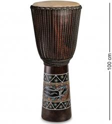 55-007-04 Барабан Джембе роспись 100 см