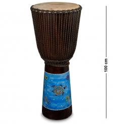 55-007-05 Барабан Джембе роспись 100 см