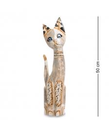 99-021 Статуэтка Кошка 50см  албезия, о.Бали