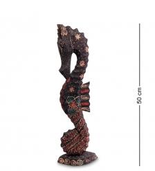10-016-03 Фигурка  Морской конек   батик, о.Ява  бол 50 см