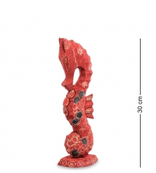 10-017-01 Фигурка  Морской конек   батик, о.Ява  мал 30 см