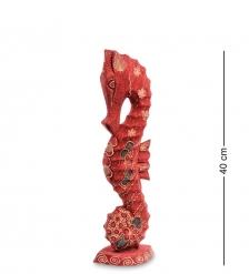 10-017-02 Фигурка  Морской конек   батик, о.Ява  сред 40 см